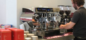 Vibiemme machine at Coffee@last