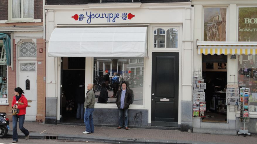 IJscuypje on the Prinsengracht