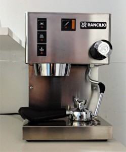 Latest addition to our household: espresso machine Rancilio Silvia