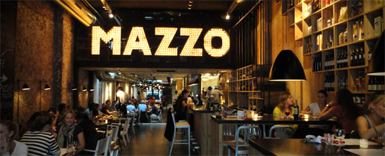 Mazzo on the Rozengracht in Amsterdam