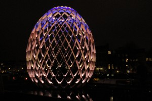 egg on the Amstel, Amsterdam Light Festival 2012