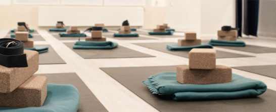 yoga at Yagoy, Amsterdam West, image courtesy of Yagoy